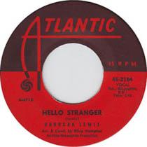 """Hello Stranger"" by Barbara Lewis, sixties doo wop and R&B"