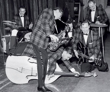 Bill Haley and His Comets Rock Around the Clock