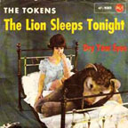 Cover for The Lion Sleeps Tonight by the doo wop group from Brooklyn The Tokens