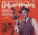Album cover for music from The Untouchables classic TV show