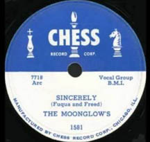 """Sincerely"" by The Moonglows"