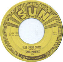 """""""Blue Suede Shoes"""" by Carl Perkins"""