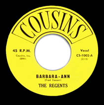 """Barbara-Ann"" by The Regents"