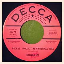 """Rockin'Around the Christmas Tree"" by Brenda Lee"