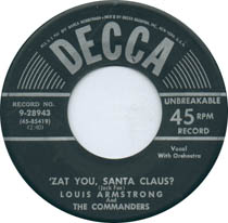 'Zat You Santa Claus? by Louis Armstrong & The Commanders