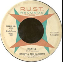 """Denise"" by Randy and The Rainbows"