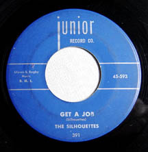 """""""Get a Job"""" by The Silhouettes"""