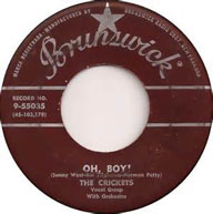 """""""Oh, Boy!"""" by The Crickets, Buddy Holly"""