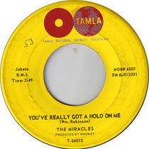"""You Really Got a Hold on Me"" by The Miracles"