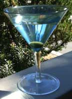 A Martini cocktail