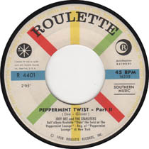 """""""Peppermint Twist"""" by Joey Dee and The Starliters"""