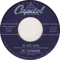 """Oh Rose Marie"" by The Fascinators"