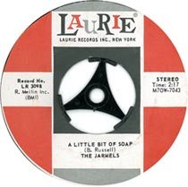 "Doo-wop classic ""A Little Bit of Soap"" by The Jarmels"