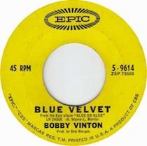 """Bobby Vinton's """"Blue Velvet"""""""