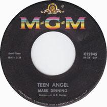 """Teen Angel"" by Mark Dinning"