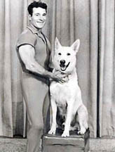 The Jack LaLanne Show -- Jack with dog Happy