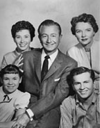 Cast for one of the classic TV shows Father Knows Best