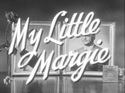 """My Little Margie"" tv series title card"
