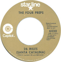 """26 Miles (Santa Catalina)"" by The Four Preps"