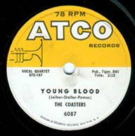 """Young Blood"" by The Coasters"