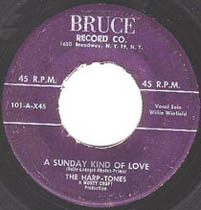 """A Sunday Kind of Love"" by The Harptones, featuring Willie Winfield"
