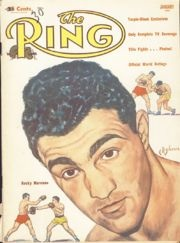 Rocky Marciano, a great boxer and celebrity of the 1950s
