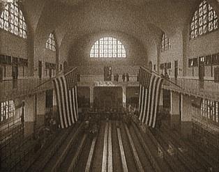 Ellis Island, Hall