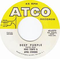 """Deep Purple"" by Nino Tempo and April Stevens"