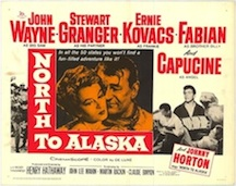 North to Alaska (film) poster