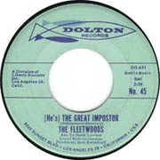 """""""(He's) The Great Imposter"""" by The Fleetwoods"""