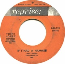 """If I Had a Hammer"" by Trini Lopez"