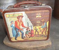 Merchandise from the popular TV Western The Rifleman