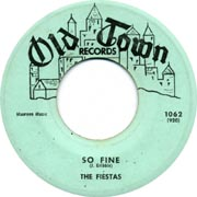 """So Fine"" by The Fiestas"