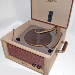 Fig. 2 A Zenith record player.