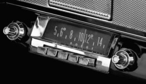 Fig. 3 Radio buttons on a Dodge dashboard.
