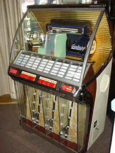 Fig. 4 1950s Seeburg jukebox.