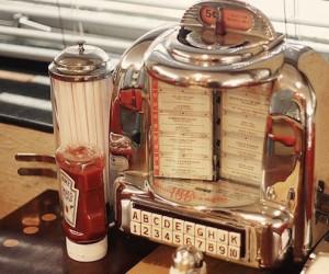Fig. 5 Tabletop jukebox.
