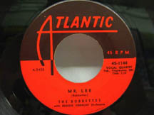 """Some doo wop music about the math teacher """"Mr. Lee"""" by The Bobbettes"""