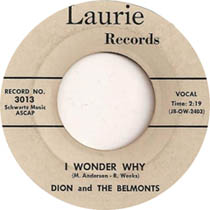 """""""I Wonder Why"""" by Dion and The Belmonts"""