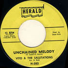 "A doo wop version of ""Unchained Melody"" by Vito and The Salutations"
