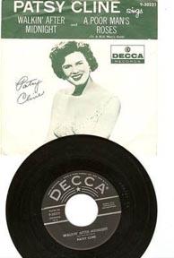 "Patsy Cline's ""Walkin' After Midnight"""