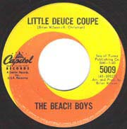 """Little Deuce Coupe"" by The Beach Boys is rock and roll at its finest."
