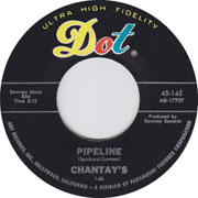 Pipeline by The Chantays, early surf rock from 1963