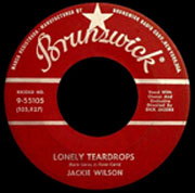 "One of the great golden oldies, ""Lonely Teardrops"" by Jackie Wilson"