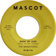 """Book of Love"" by The Monotones"