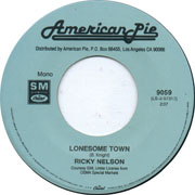 """Lonesome Town"" by Ricky Nelson"
