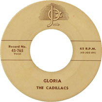 """Gloria"" by The Cadillacs"
