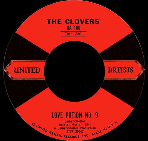 The Clovers Love Potion No. 9