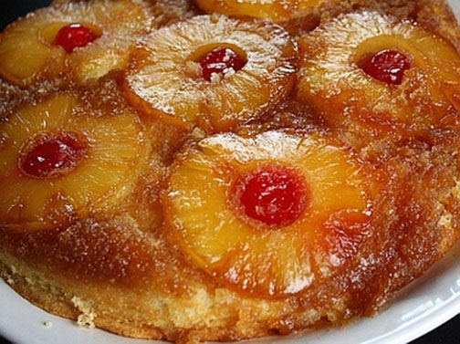 Pineapple Upside Cake from Judy Wear