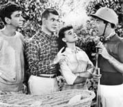 Chatsworth Osborne Jr with Dobie Gillis gang